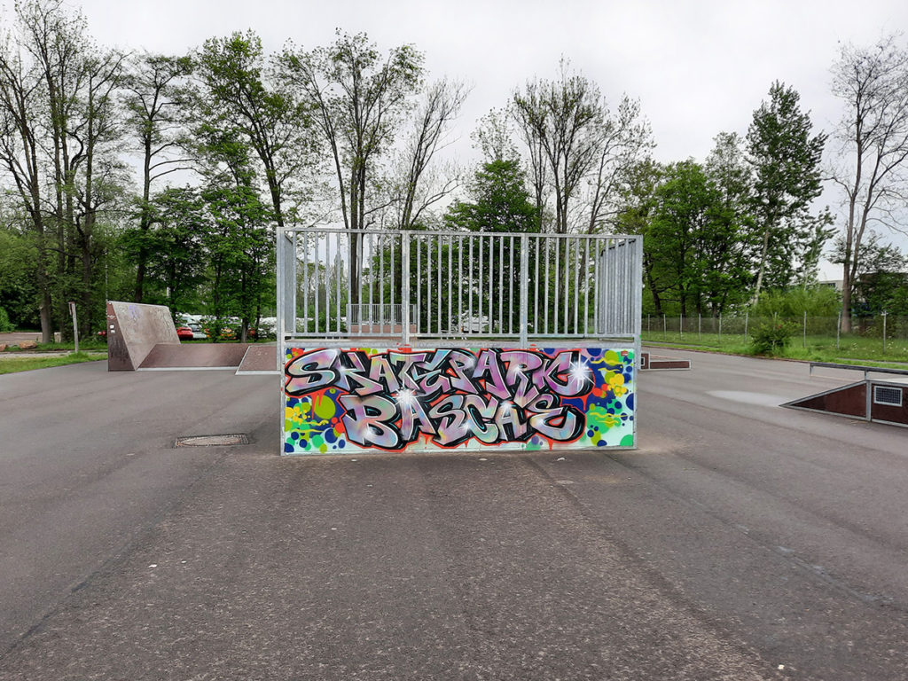 sanierungsgebiet Bahlsen Skateranlage